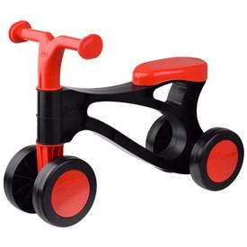 LENA Rolocykl černočervený