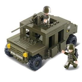 Sluban Army M38-B0297 Obrněný vůz poškozený obal