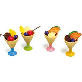 Small Foot Set 4 zmrzlina v poháru
