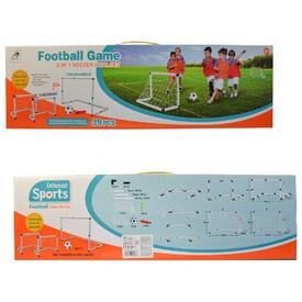 MaDe Fotbalových branka s míčem a pumpičkou