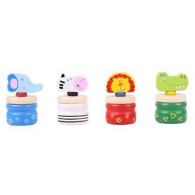 Bigjigs Toys Krabička na zoubky safari 1ks