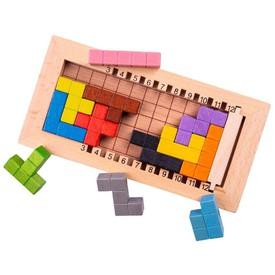 Bigjigs Toys Dřevěný tetris