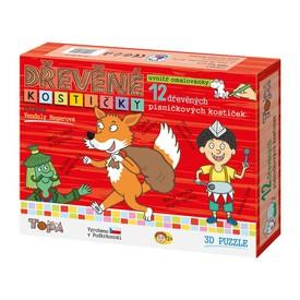 Topa Toys Dřevěné Písničkové kostičky