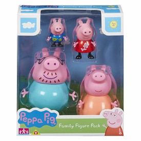 PEPPA PIG Set figurek 4 ks