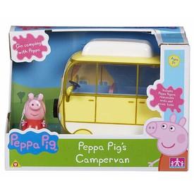 PEPPA PIG Kempingový vůz s figurkou