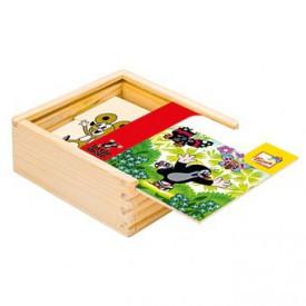 Dřevěné hračky -  První skládanka - Krtek 2