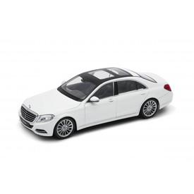 Welly Mercedes-Benz S-Class model 1:24 bílý