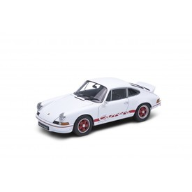Welly Porsche 911 Carrera RS 2.7 model 1:24 bílý