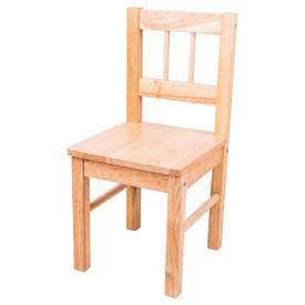 Bigjigs Toys Dřevěná židle přírodní