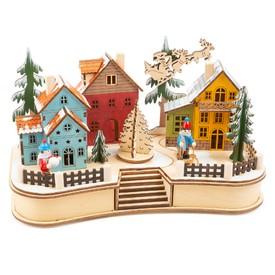 Small Foot Vánoční lampa Village