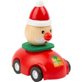 Small Foot Vánoční autíčko 1 ks červená