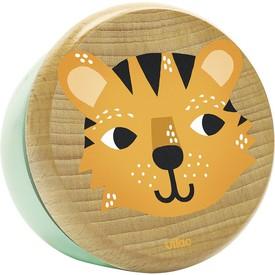 Vilac Dřevěná hrací skříňka tygr
