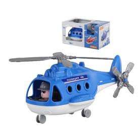 POLESIE Vrtulník ALFA Policie modrý