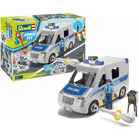 Revell Junior Kit 00811 Police Van (1:20)
