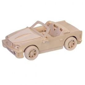 Dřevěné 3D puzzle - dřevěná skládačka auta - Velké BMW P067