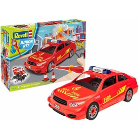 Revell Junior Kit 00810 Fire Chief car