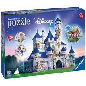 Ravensburger puzzle 3D Disney zámek 216 dílků