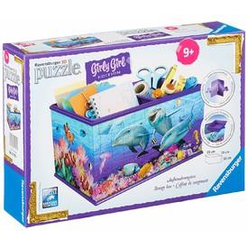 Ravensburger puzzle 3D Úložná krabice Podmořský svět 216 dílků