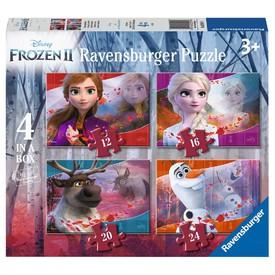Ravensburger Puzzle Ledové království 2, 4v1 (12,16,20,24 dílků)