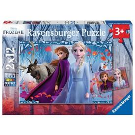 Ravensburger Puzzle Ledové království 2, 2x12 dílků