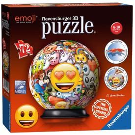 Ravensburger 3D puzzle Puzzleball Emoji 72 dílků