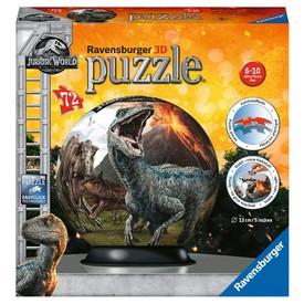 Ravensburger 3D puzzle Puzzleball Jurský svět 72 dílků