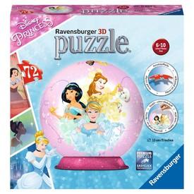 Ravensburger 3D puzzle Puzzleball Disney Princezny 72 dílků