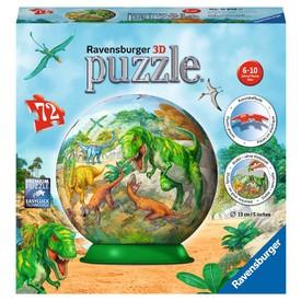 Ravensburger 3D puzzle Puzzleball Říše dinosaurů 72 dílků