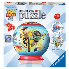 Ravensburger 3D puzzle Puzzleball Příběh hraček 4 72 dílků