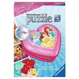 Ravensburger 3D puzzle Srdce Disney princezny 54 dílků