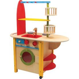 Small Foot Dřevěná kuchyňka vše v jednom Deluxe
