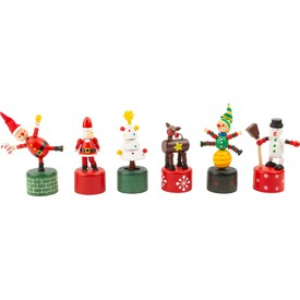 Small Foot Vánoční tančící figurka 1 ks Sněhulák