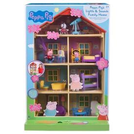 PEPPA PIG Rodinný dům se světlem a zvukem