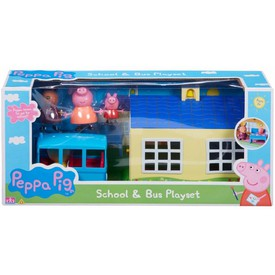 PEPPA PIG Škola a školní autobus