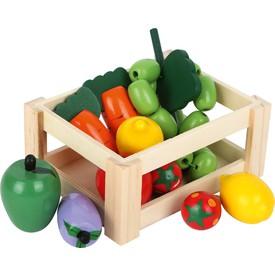 Small Foot Kuchyně přepravka se zeleninou