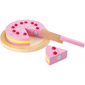 Small Foot Dřevěný krájecí dort