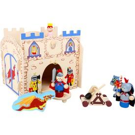 Small Foot Dřevěný rytířský hrad