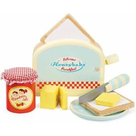 Le Toy Van Toaster s příslušenstvím