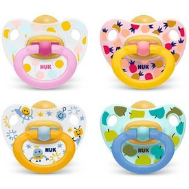 NUK Dudlík Classic Happy Kids V1 (0-6m.)