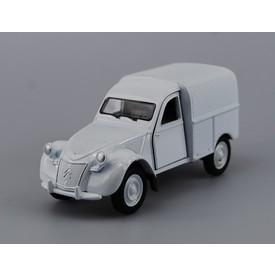Welly Citroen 2CV Fourgonnette model 1:34 stříbrná