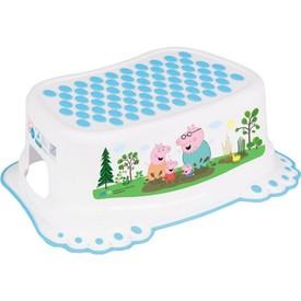 TEGA BABY Dětské protiskluzové stupátko do koupelny Prasátko Peppa white-blue