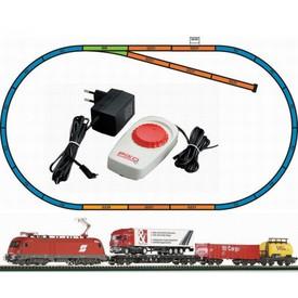 Piko Startovací sada Nákladní vlak s elektrickou lokomotivou - 57170
