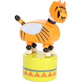 Small Foot Tančící zvířátko Jungle 1ks tygr