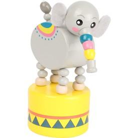 Small Foot Tančící zvířátko Jungle 1ks slon