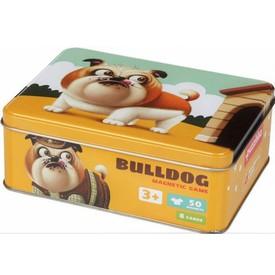 Puzzlika 14262 Buldoček psí móda - magnetická hra 50 dílků a 8 předloh