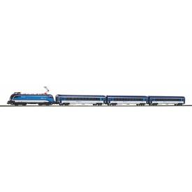 Piko Základní sada Osobní vlak s lokomotivou RailJet ČD VI - 57179