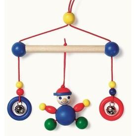 Dřevěné hračky - Závěs do kočárku - kluk
