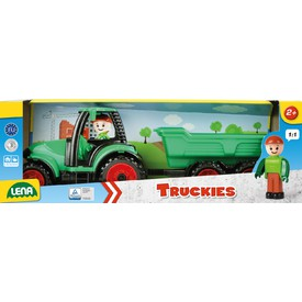 LENA Traktor s vlečkou Truckies