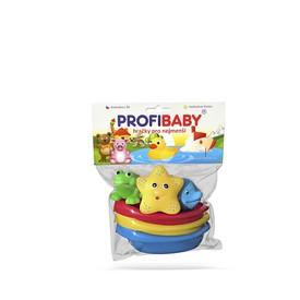 PROFI BABY Lodičky + zvířátka do vany