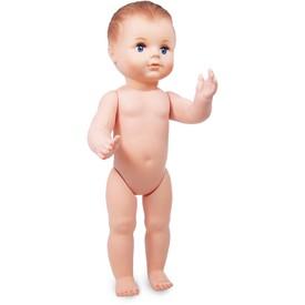 Petitcollin Koupací panenka 40 cm (modré oči)